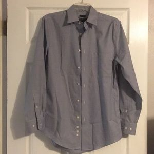 Checked dress shirt